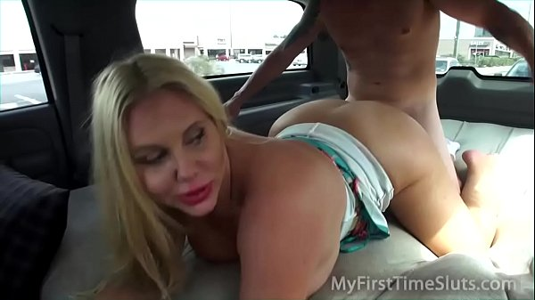 Karen Fisher Fat Ass Jacked Up In Back Of Vehicle And Fucked