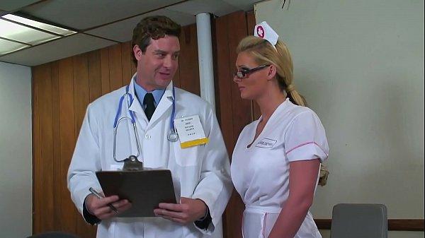 Blonde Whore Dressed As Nurse Fucked Deep Anal